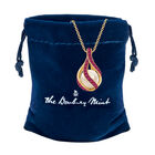 Loves Embrace Pearl Birthstone Necklace 10144 0014 n gift pouch