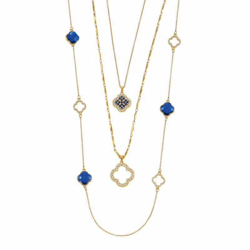 Birthstone Beauty Layered Necklace Set 6594 001 7 9