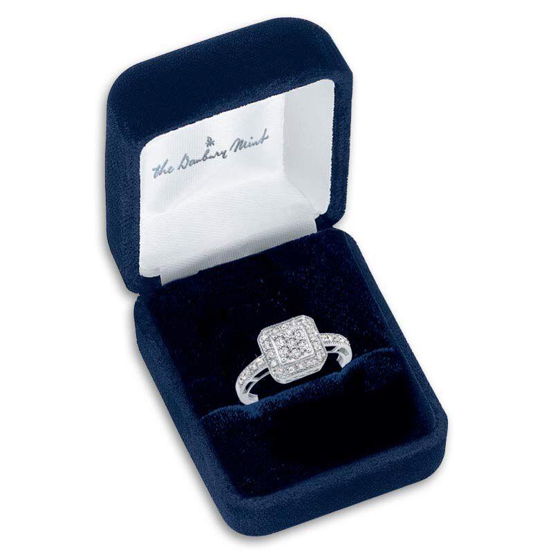 Square Flair Diamond Commitment Ring 9821 001 6 3