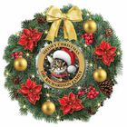 The Meowy Christmas Lit Wreath 6012 001 1 1