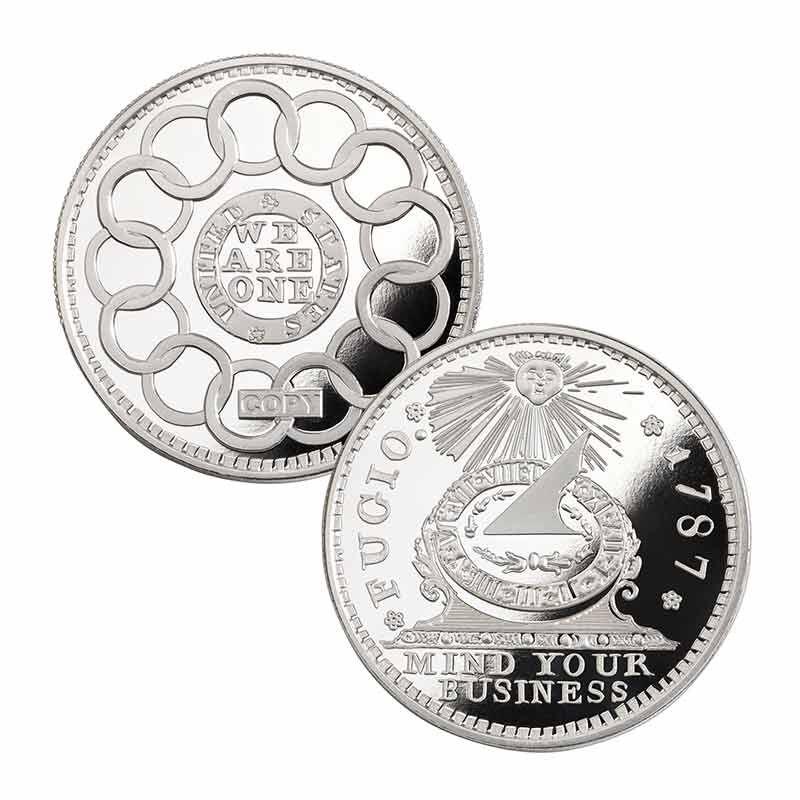 The Franklin Cent Silver Bullion Commemorative 2425 001 1 1
