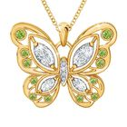 The Birthstone Butterfly Diamond Pendant 2030 001 8 8