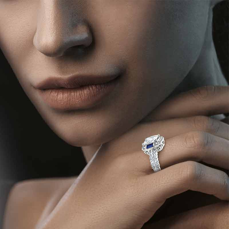 Hollywood Glamour Statement Ring   6273 001 5 5