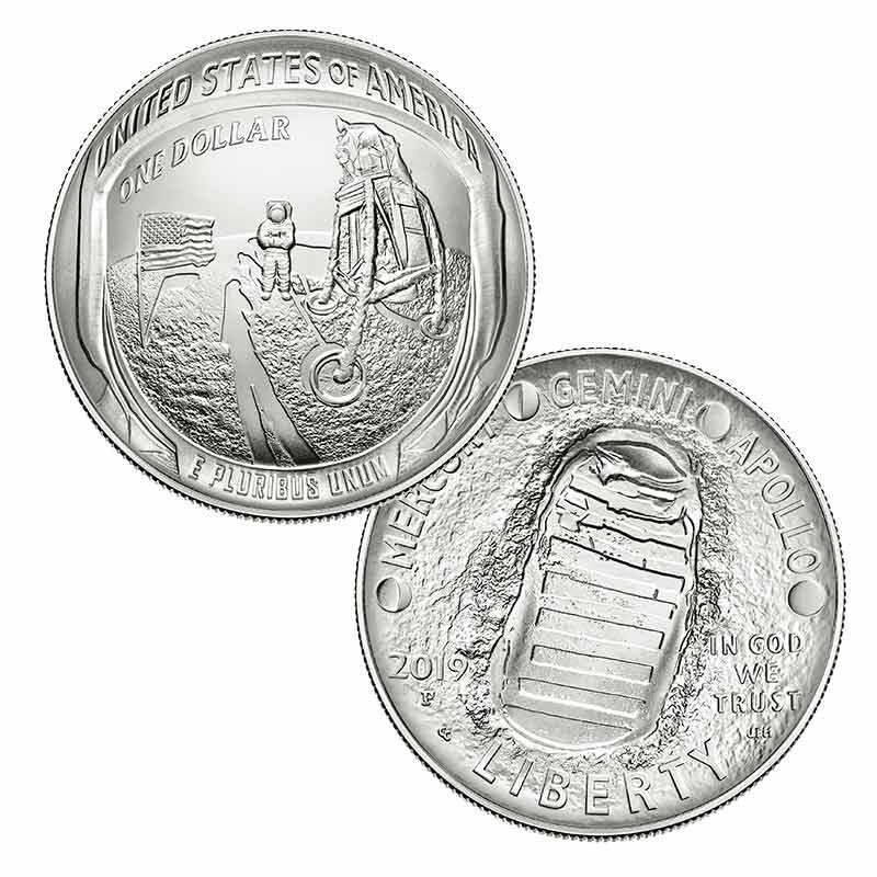 The Apollo 11 50th Anniversary Silver Dollar 2667 001 8 5