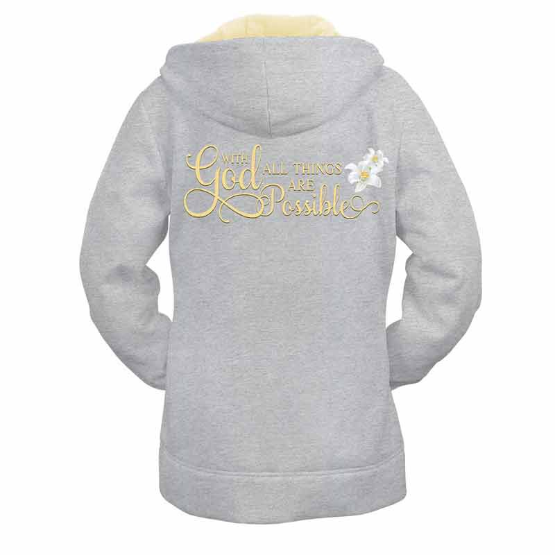 With God All Things are Possible Zip Up Hoodie 2450 001 9 3