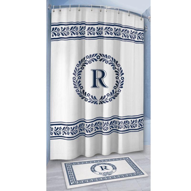 Monogram Bath Mat and Shower Curtain Set 10239 0010 c room