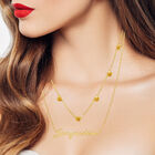 The Birthstone Layered Necklace 6788 001 3 14