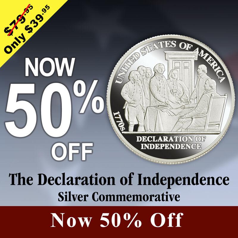 American History Silver Bullion Collection 5541 0104 b commemorative