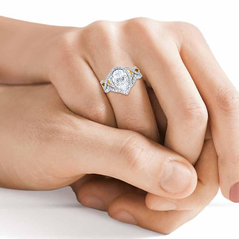 The Diamonisse Bridal Set 2775 001 7 4
