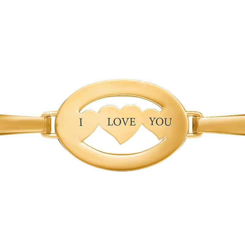 Daughter I Love You Diamond Bangle 1818 001 8 2