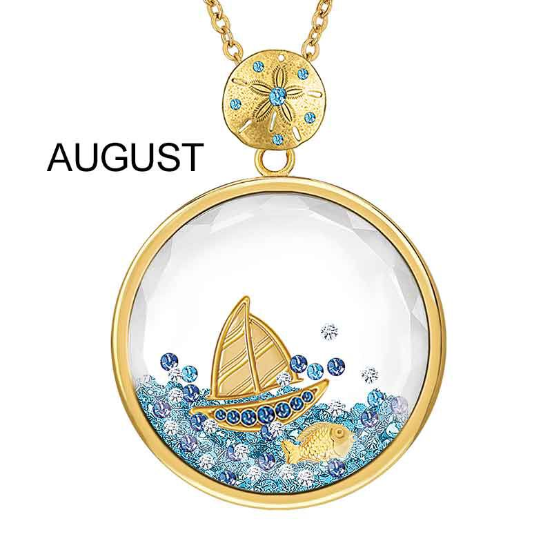 Year of Cheer Floating Crystal Pendants 1553 001 7 9