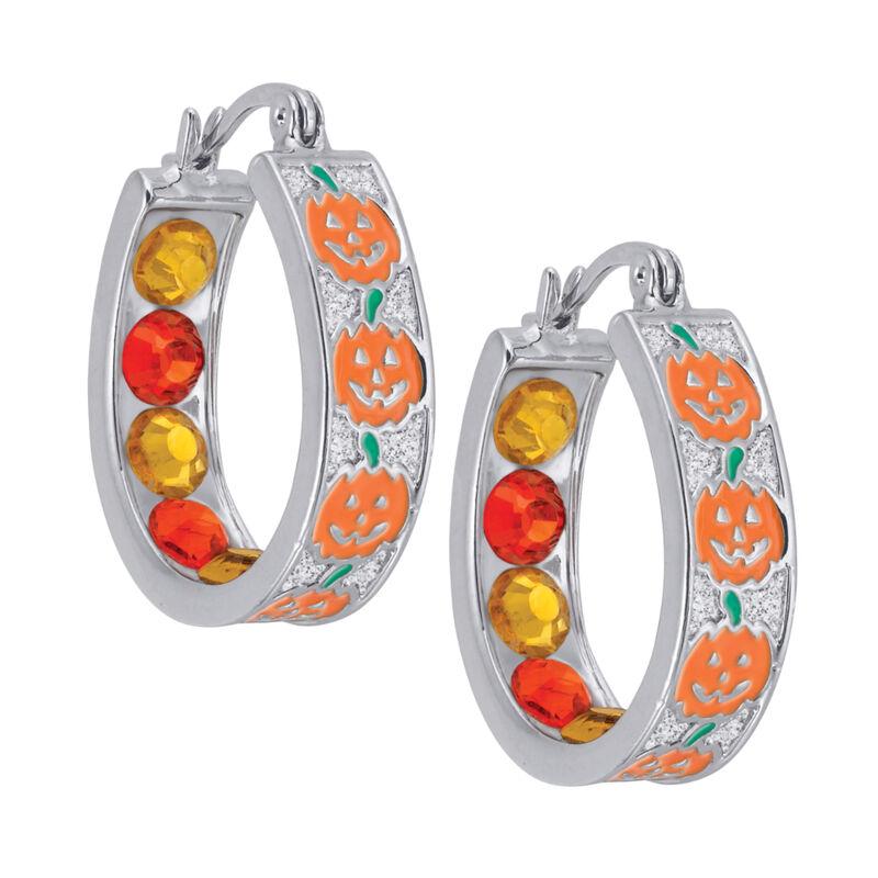 Crystal Celebrations Hoop Earrings 4608 0032 f november