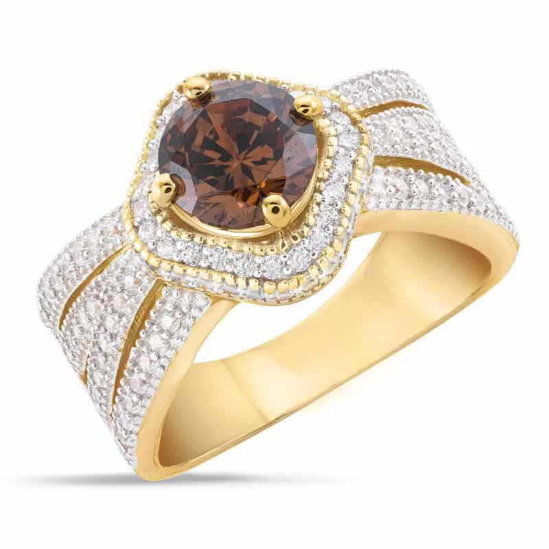 Mocha Majesty Diamonisse Ring 6372 001 5 1