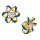 Birthstone Beauty Heart Earrings 2627 0066 i september