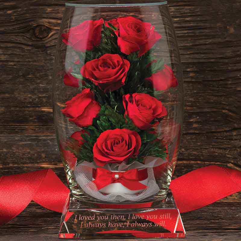 Miracle Roses with Inscribed Base 4538 002 9 3