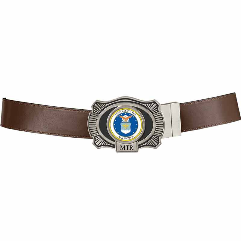 The US Air Force Leather Belt 2398 006 3 4