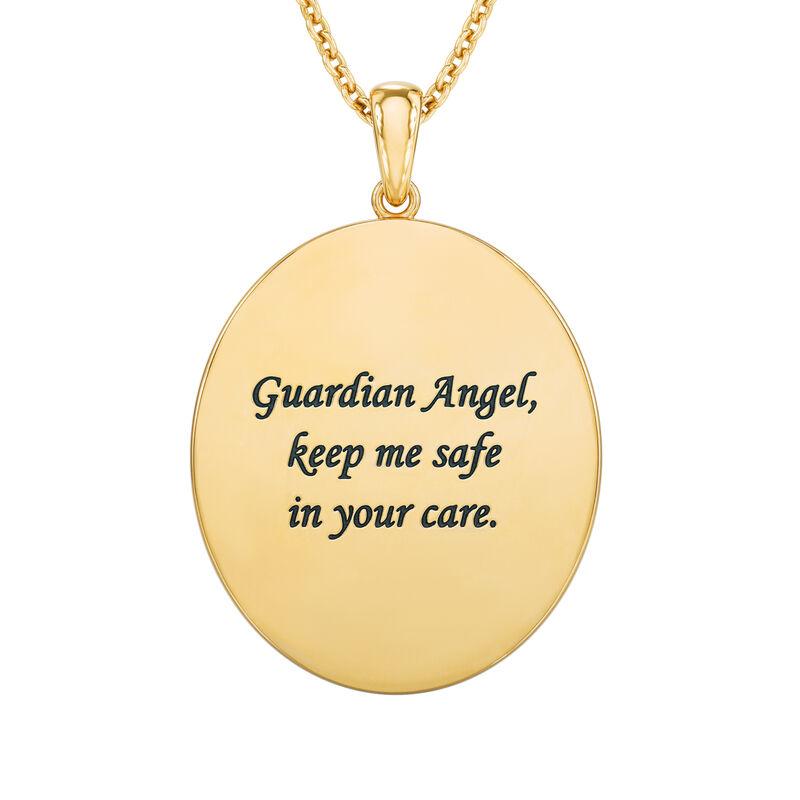 Guardian Angel Diamond Pendant 10114 0010 c back