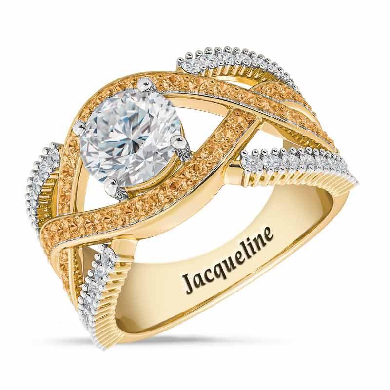 Birthstone Statement Ring 6243 001 2 11