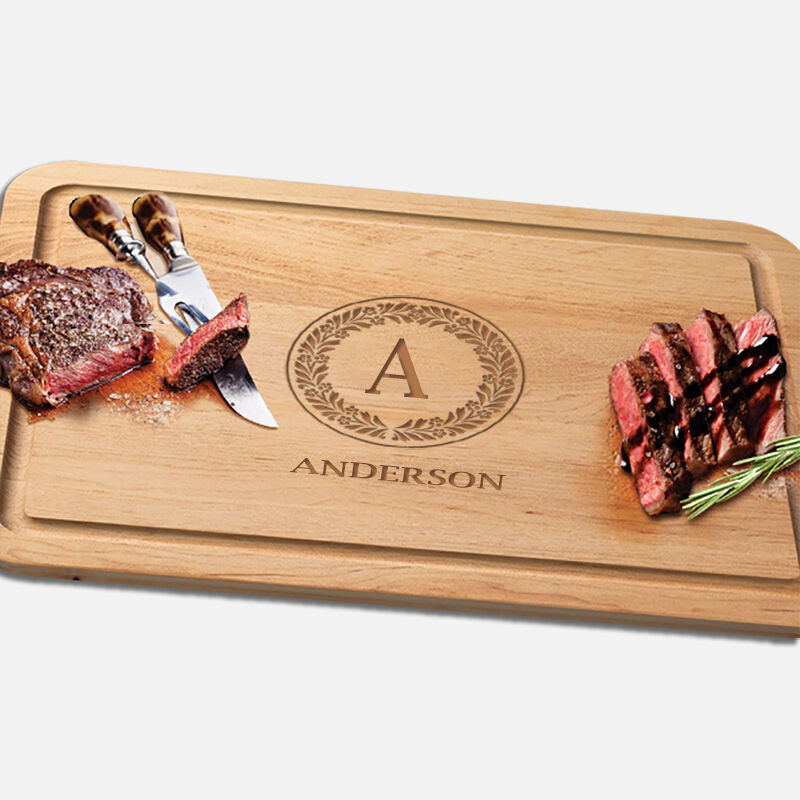 The Personalized Vermont Maple Cutting Board 1468 001 1 4