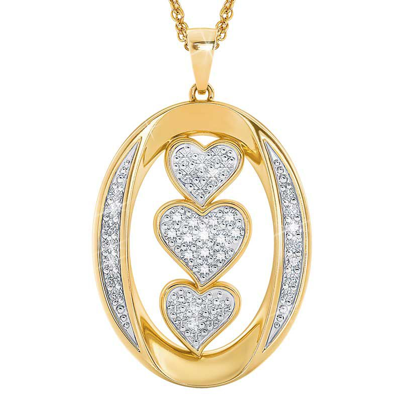 Today Tomorrow Forever Granddaughter Pendant 6205 001 8 2