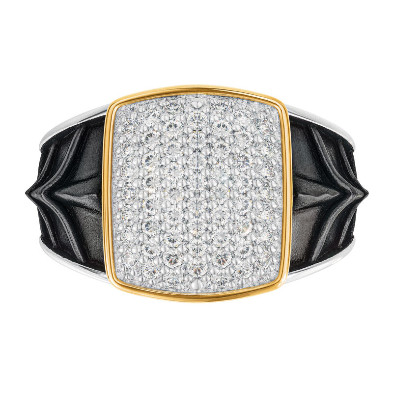 Diamond Knight Mens Ring 10158 0017 b head on