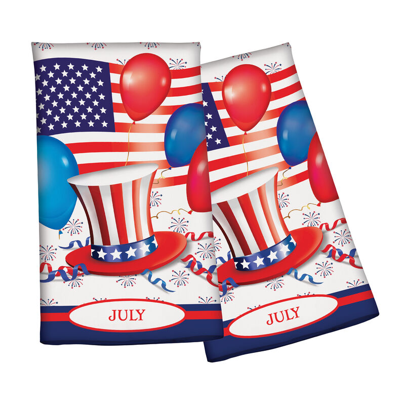 Year of Cheer Kitchen Towel Collection 6844 0015 c july