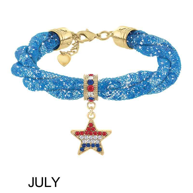 Colors of the Month Crystal Bracelets 6079 002 9 5