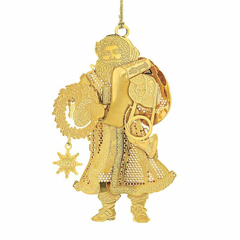 The 2020 Gold Christmas Ornament Collection 2161 004 3 2