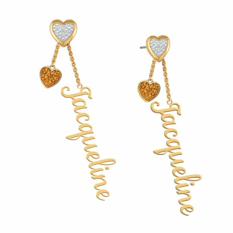 Personalized Birthstone Earrings 6553 001 6 11