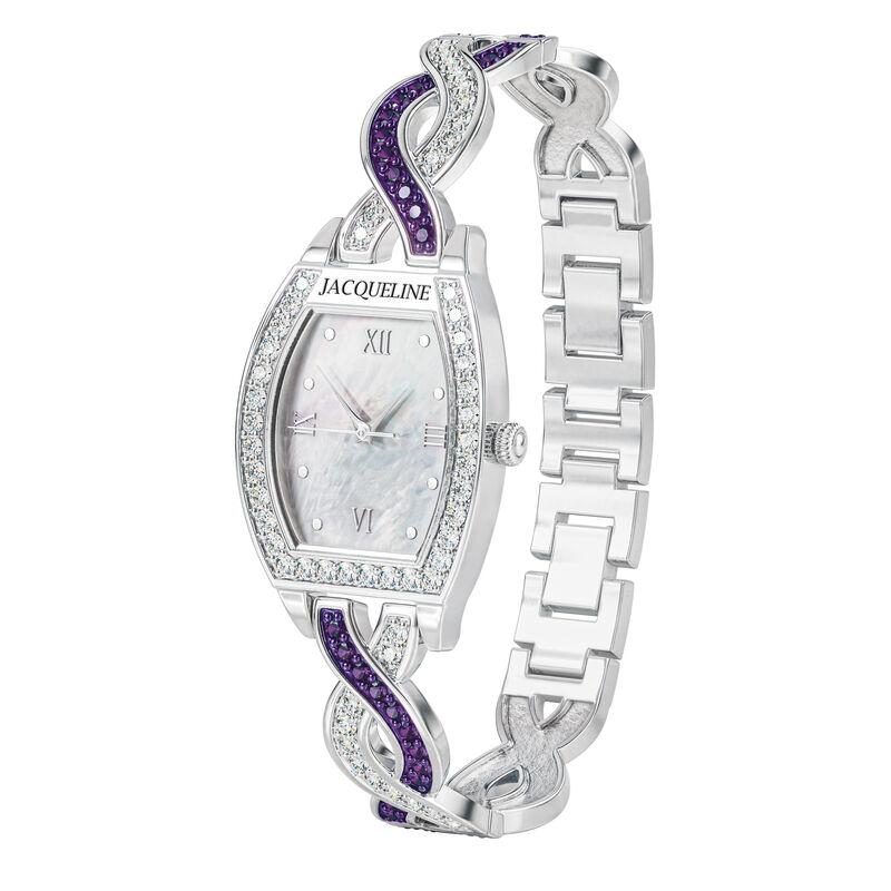 Birthstone Bracelet Watch 10148 0010 b february