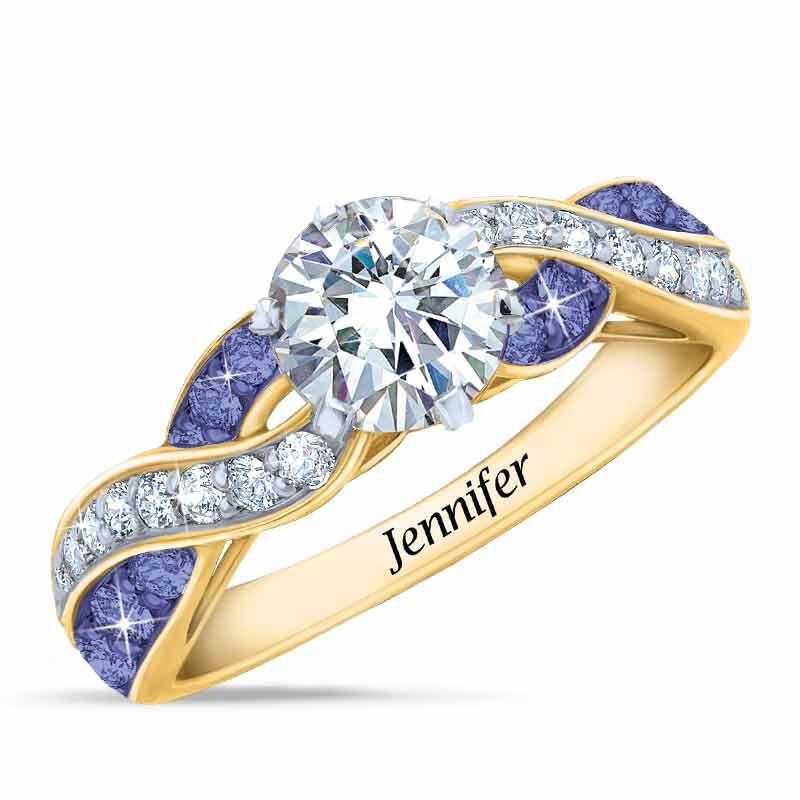 Birthstone Swirl Personalized Ring 5361 001 0 2