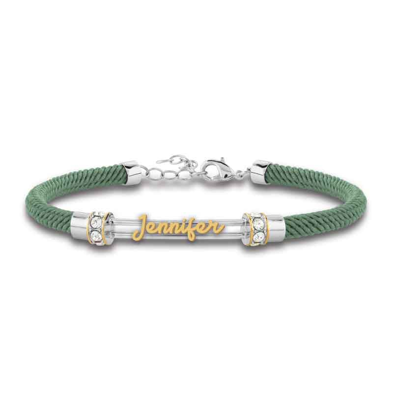 Personalized Birthstone Rope Bracelet 4947 005 7 10