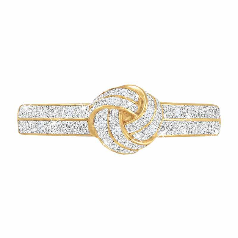Diamond Love Knot Personalized Ring 2113 001 8 2