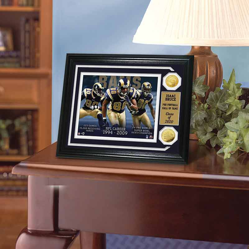 Isaac Bruce Hall of Fame Photo Collage 4391 160 1 2