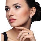 Birthstone Wave Earrings 2202 0069 m model
