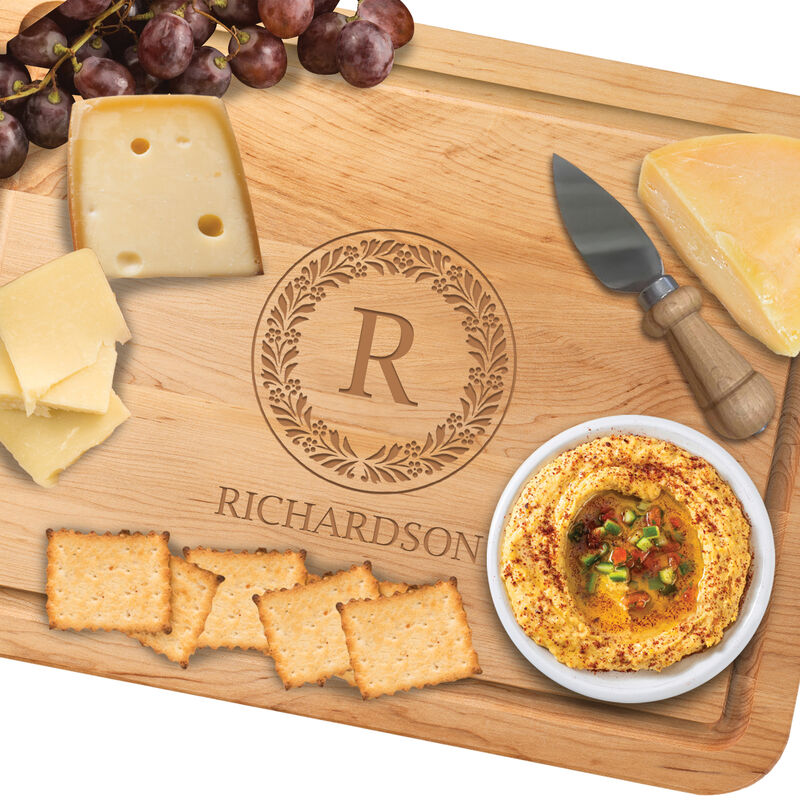 The Personalized Maple Cutting Board with Free Knife 1468 0037 b cheeserev