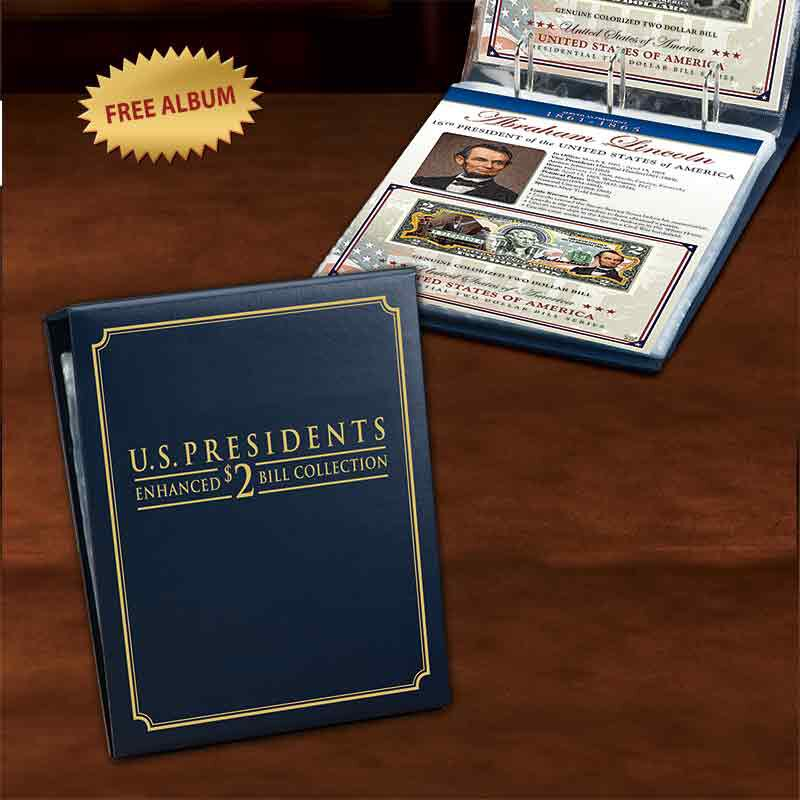 US Presidents Enhanced 2 Bill Collection 5921 001 3 3
