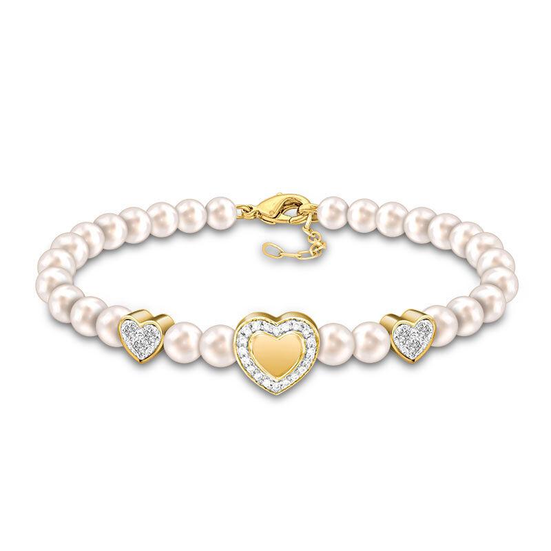 Granddaughter Always in My Heart Pearl Bracelet 2532 001 1 1