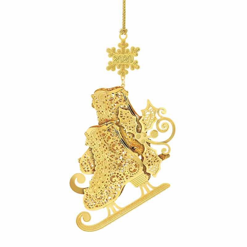 2020 Annual Gold Christmas Ornament 2810 003 0 1