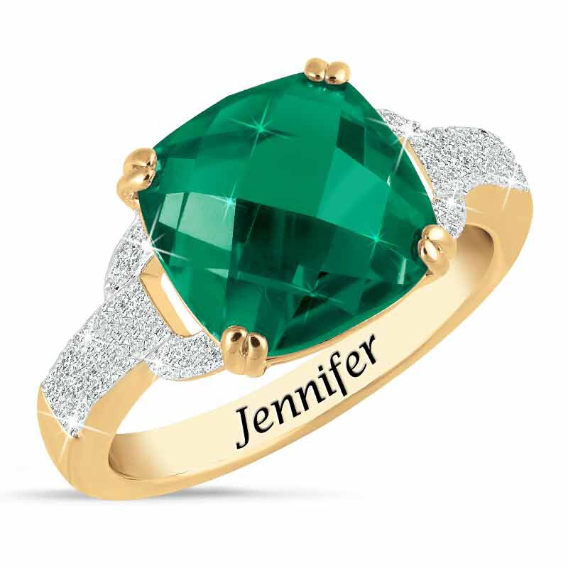 Birthstone  Diamond Ring 1159 001 5 5