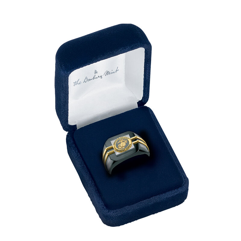 Distinction Military Ring 6670 0048 g open display