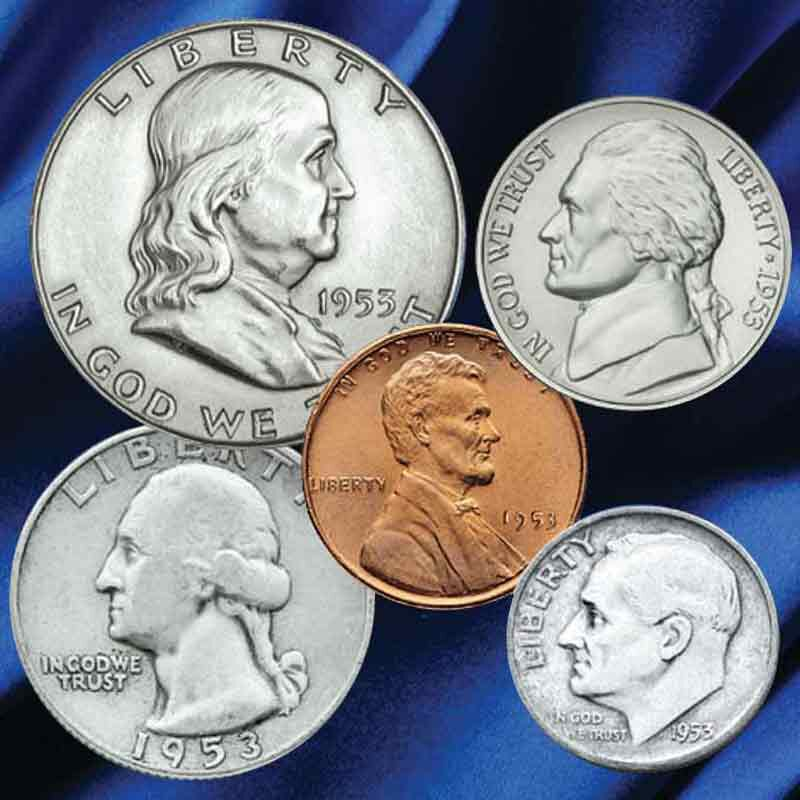 Year of Birth Coin Set 5247 001 0 1