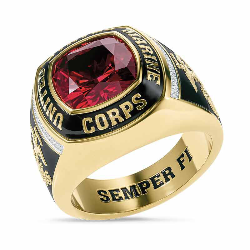 The Defender US Marine Corps Ring 6515 003 9 1