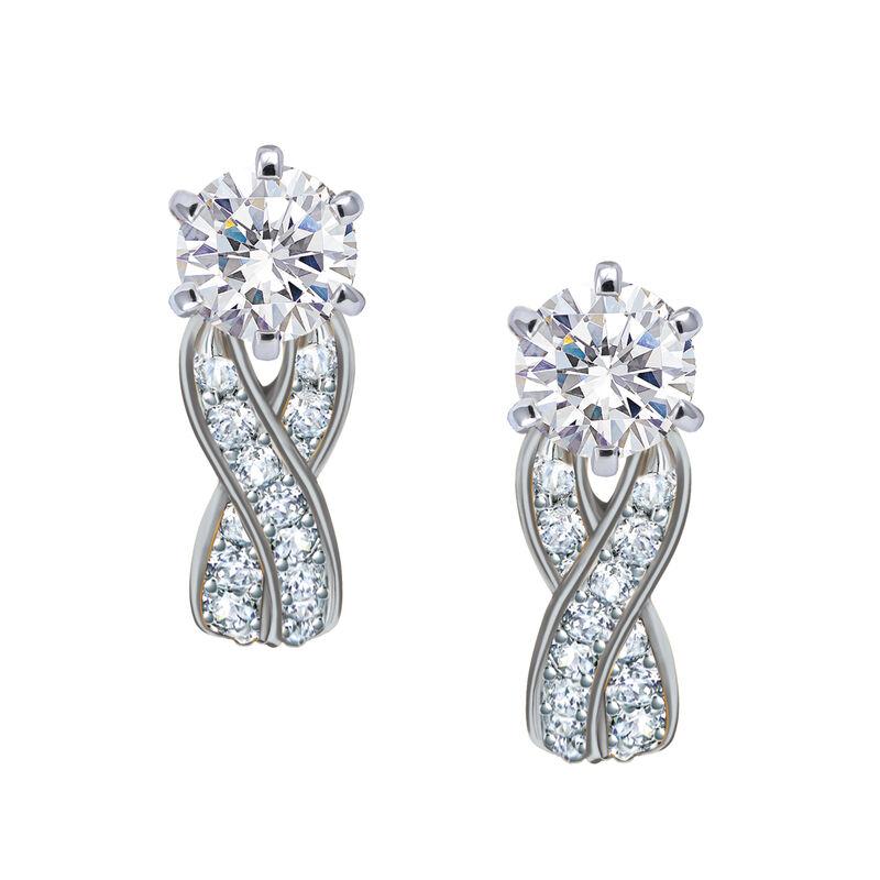 Birthstone Swirl Earrings 10115 0027 d april