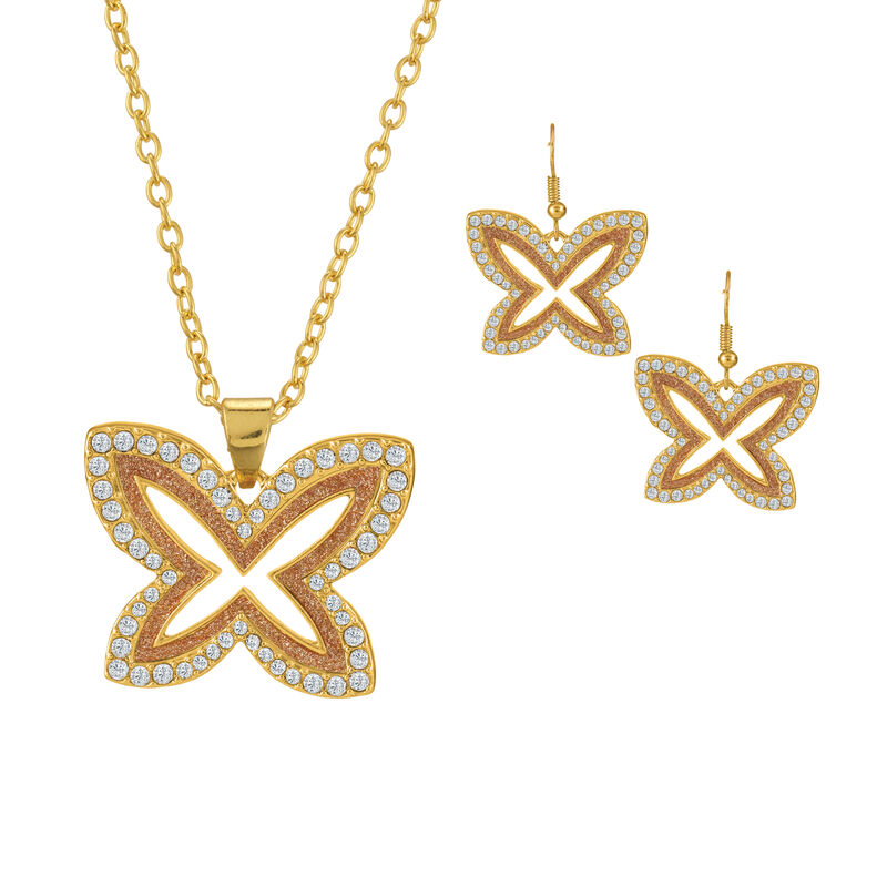 Sparkling Statements Pendant and Earring collection 10028 0015 f may