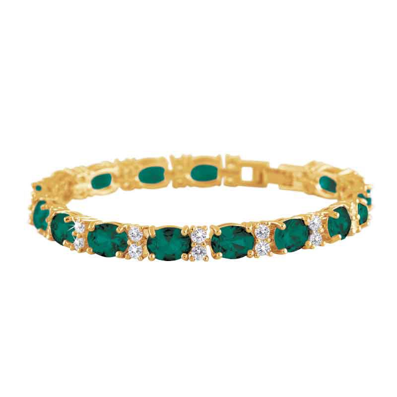Birthstone Tennis Bracelet 1265 001 6 5