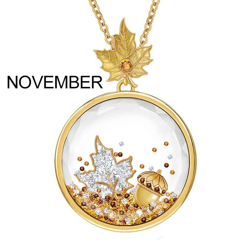Year of Cheer Floating Crystal Pendants 1553 001 7 12