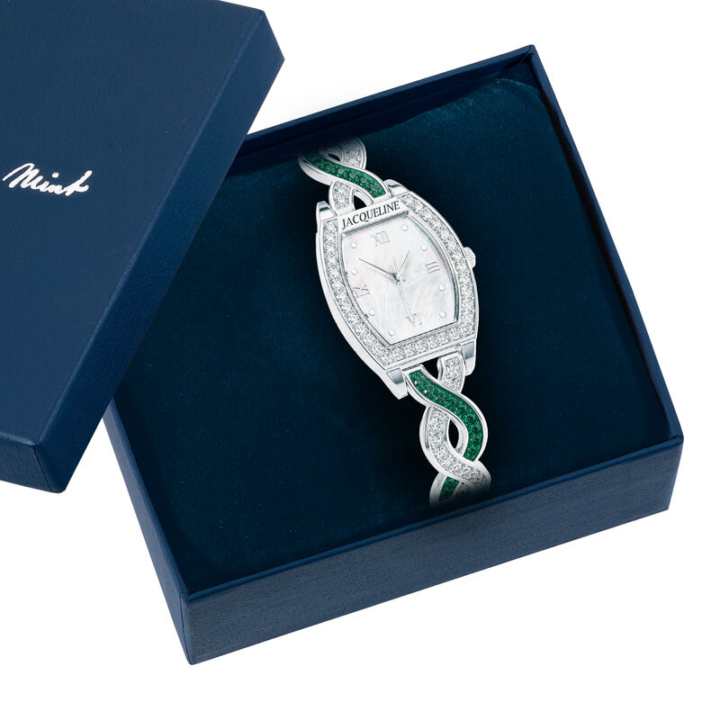 For My Daughter Birthstone Watch 10687 0017 g display box