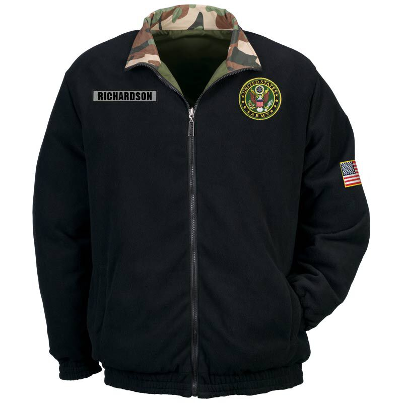 Personalized US Army Reversible Bomber Jacket 5672 001 4 1