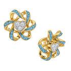 Birthstone Beauty Heart Earrings 2627 0066 c march